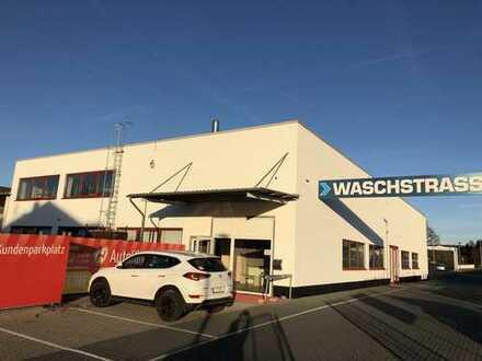 150m² Werkstatt-/ Lager-/ Verkaufs /Ausstellungshalle zu vermieten