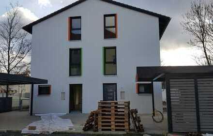 Erstbezug einer neugebauten Doppelhaushälfte in Nürnberg-Eibach