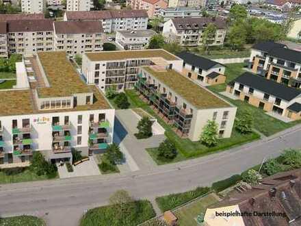 """W1.3 im 1. OG / Barrierefeies Wohnen in der """"Residenz am Königsberger Platz"""" Bad Windsheim"""