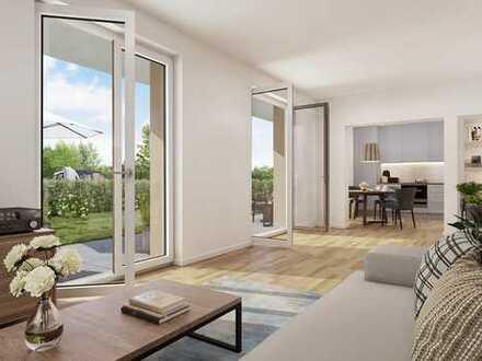 Großzügige, barrierefreie 3-Zimmer-Wohnung mit großem Garten