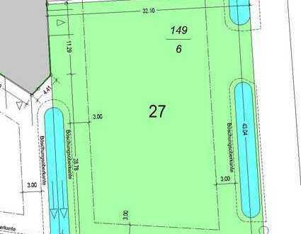 """Baugrundstück für ein Mehrfamilienhaus """"Wohnpark Am Amtsweg"""", 1352m² qm"""