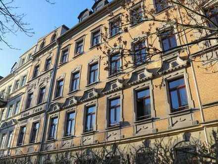 Großzügig geschnittene 2-Raum-Maisonettewohnung mit sonnigem Balkon in guter Lage