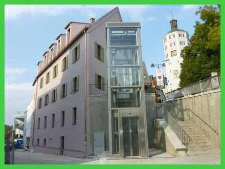 """Schöne 2-Zimmer-Wohnung """"Am Stadtturm"""" in Günzburg zu vermieten!"""