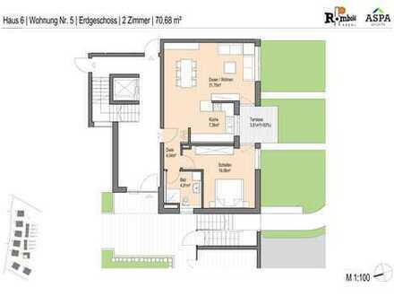 Große und helle 2 Zimmer Wohnung mit viel Platz!