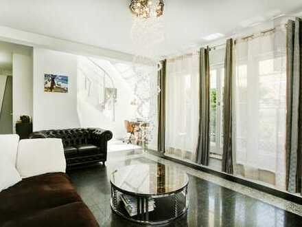 Rarität, Toplage ! Schöne, ruhige und lichtdurchflutete Dachgeschoss-Maisonette Wohnung mit Balkon