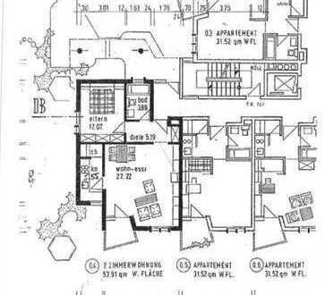 Erstbezug nach Komplettsanierung, provisionsfrei: 2-Zimmer-Wohnung mit Balkon und EBK in Herdern