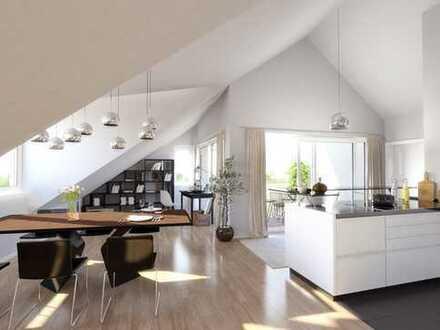 Baubeginn erfolgt: Schöne Dachgeschosswohnung im Herzen von Renningen