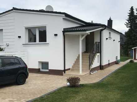 Ausbaufähige und vollständig sanierte Doppelhaushälfte