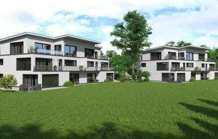 Hochwertige EG-Wohnung mit Terrasse und Gartenanteil (neu, energieeffizient, 90 m², 3 Zimmer)