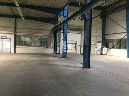 Modern beheizte Lager- und Produktionshallen mit ca. 2.800 m² in top Lage von Usingen!