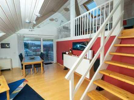 Attraktive 4-Raum-DG-Wohnung mit EBK und Balkon in Pfinztal