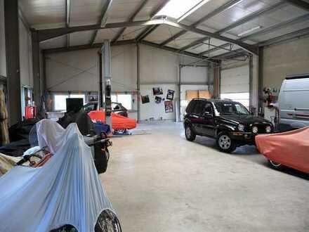 Beheizbare Hallen für Werkstatt/Lager/Produktion