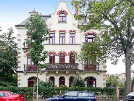 www.r-o.de +++ Im Herzen von Striesen... Ruhig gelegene 3-Zimmerwohnung mt 2 Balkonen