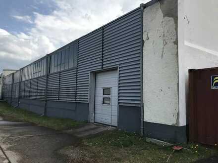 Lagerhalle im Gewerbegebiet Sachsenhausener Straße