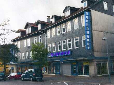 Leerstehendes Kaufhaus im Zentrum von Clausthal-Zellerfeld