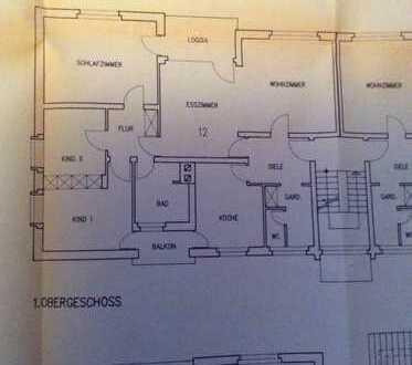 Gepflegte 3-Zimmer-Wohnung mit Balkon und Einbauküche in Grenzach-Wyhlen