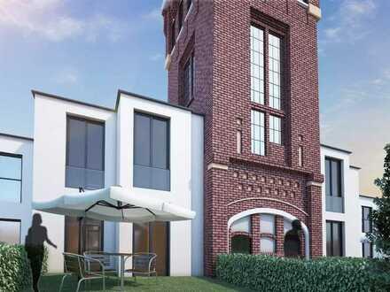 Baugrundstück für innovatives Wohnen und Arbeiten, verbunden mit dem denkmalgeschützten Roten Turm