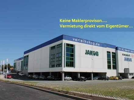 Einzelhandelsfläche direkt an der A9 in Bayreuth sucht Nachmieter 800-1.400 m2 teilbar