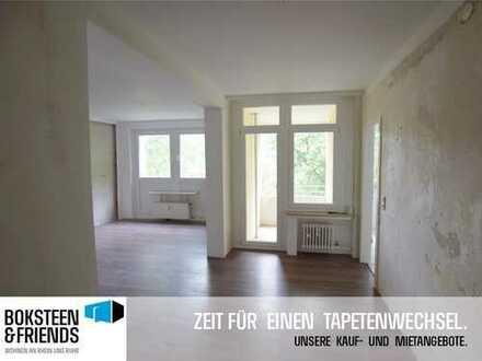 *RENOVIERUNGSGUTSCHEIN GESCHENKT* für ruhig gelegene Etagenwohnung in Scharnhorst!