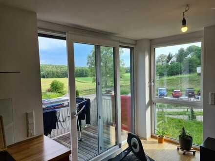 individuelle 2,5-Zimmer-Terassenwohnung mit Balkon in Greifenberg