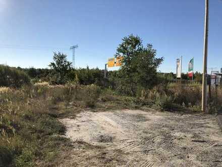 Gewerbegrundstück 462qm am Autobahndreieck A10 und direkt an der B96 - Provisionsfrei!