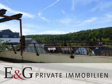 Großzügige Terrassen-Wohnung mit Potential über den Dächern von Remseck am Neckar