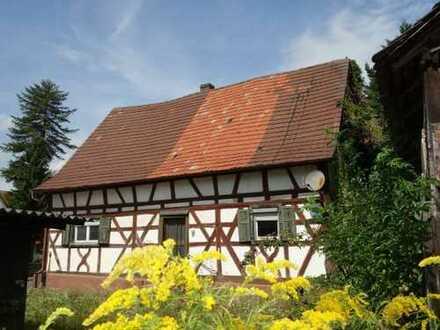 Hier ist der Liebhaber und Sanierer gefragt! Denkmalgeschütztes Fachwerkhaus.