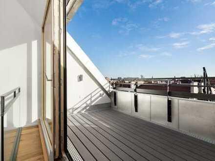 Dawonia - Dachterrassenwohnung mit Charme im Herzen Münchens 
