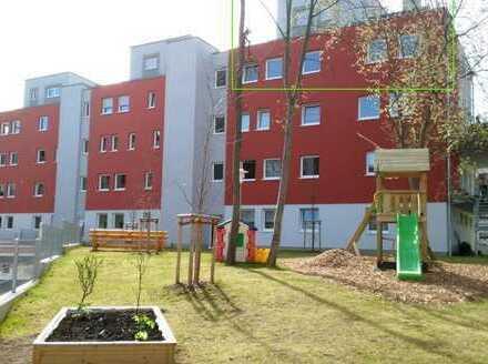 großzügige KFW 70 Masionette-Wohnung mit Dachterrasse und Blick über Halle