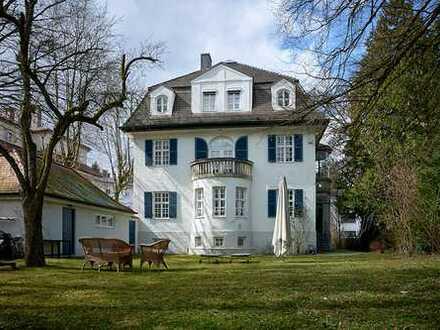 Sollner Denkmalvilla zur Selbstnutzung oder zur gewerblichen Vermietung als Kapitalanlage