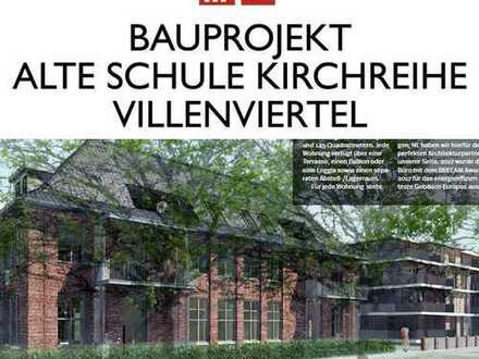 WOHNUNG 3: Bauprojekt ALTE SCHULE KIRCHREIHE WHV - Klassischer JUGENDSTIL trifft urbanen LIFESTYLE