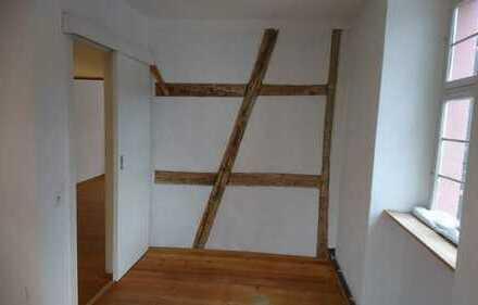 Modernisierte 2-Zimmer-Wohnung mit Einbauküche in der Weinheimer Altstadt
