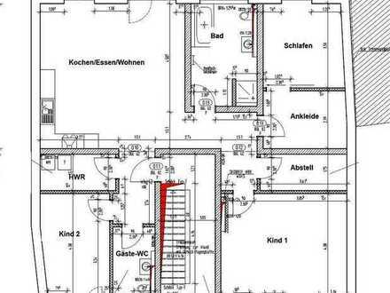 Erstbezug: ansprechende 4,5-Zimmer-Wohnung mit EBK und Balkon in Ober-Hilbersheim