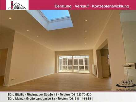 Exklusive, erstklassig sanierte Wohnung mit großer Terrasse und Wintergarten