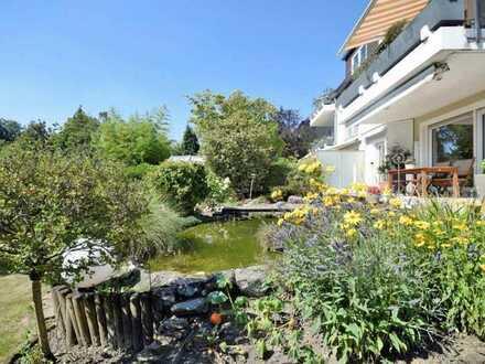 Schönheit am Schellenberger Wald :-) Komfortable 2- bis 3-Raum-Erdgeschoss-Wohnung mit Garage