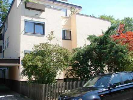 Von Privat: sehr schöne, helle, ruhige 3-Zimmer-Wohnung in Alt-Solln mit Garten