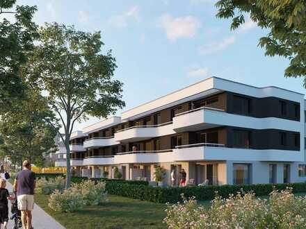3-Zimmer Obergeschosswohnung mit Süd-Balkon!