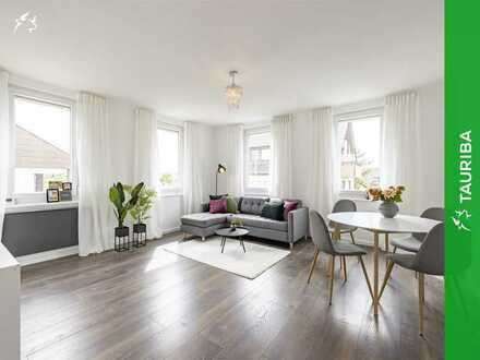 +++Frisch renovierte und modern gestaltete Wohnung mit schönem Balkon+++