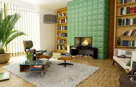 Schönes Haus in Form von einer DHH mit Dachstudio & Einbauküche: KfW 55 Bj.2014