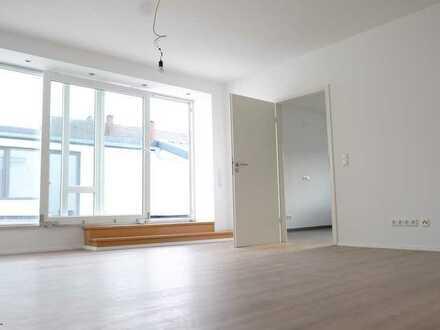 Erstbezug nach Sanierung mit zwei großen Terrassen: attraktive 4-Zimmer-Terrassenwohnung in Amorbach