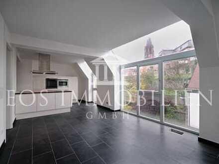 Exklusive Maisonettewohnung mit großzügiger Fensterfront!