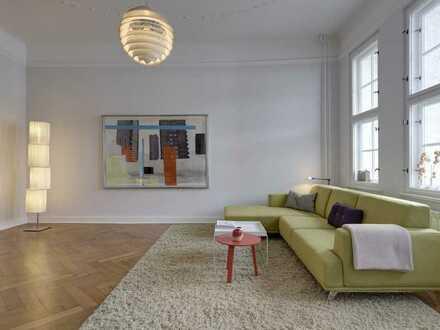 Stilvolle, großzügige 5-Zimmerwohnung mit Einbauküche, 2 Bädern, 2 Balkonen und Lift