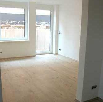 Neubau: Helle 1-Zimmer-Wohnung im Souterrain mit Freisitz in Gudensberg