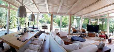 Leben wie in einem Einfamilienhaus/ großer Garten/ EBK/ Wintergarten/ Maisonette