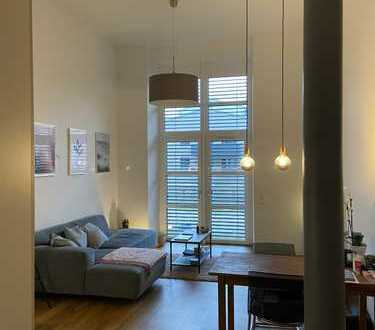 Ansprechende 3-Zimmer-Loft-Wohnung mit EBK und Terrasse in Forchheim