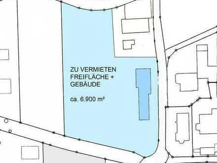 6.900 m² Gewerbegrundstück + repräsentative Halle in zentraler Lage im Gewerbegebiet von Dettingen