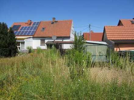 PROVISIONSFREI - Ruhiges und idyllisch gelegenes Grundstück mit Doppelhaushälfte