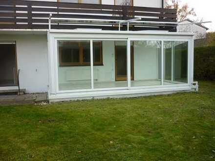 gepflegte 3 Zimmer-EG-Wohnung mit Wintergarten und Garten am Forstenrieder Park