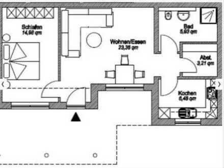 Attraktive 2-Zimmer-Terrassenwohnung mit EBK in Gelnhausen