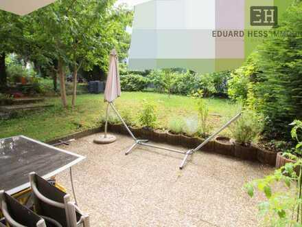 ++ Feudenheim: vermietete 2-ZKB im Gartengeschoss mit Terrasse ++